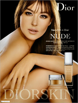 Monica Bellucci in Dior AD