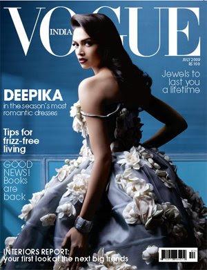 Deepika Padukone Vogue India Scans