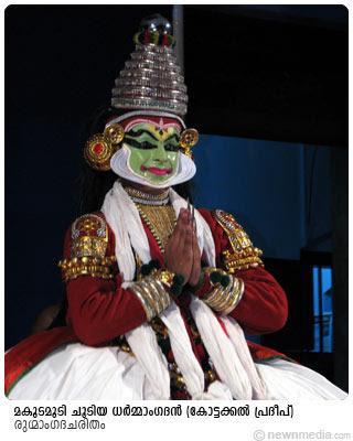 RugmangadaCharitham: Kottackal Pradeep(Dharmangadan), MakudaMudi