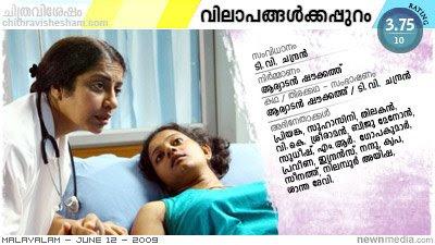 Vilapangalkkappuram (Beyond Cries) - A film by T.V. Chandran starring Priyanka, Suhasini, Thilakan.