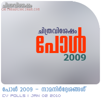 Chithravishesham Poll 2009 - Nominations.