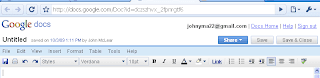 google docs toolbar Google docs simple interface