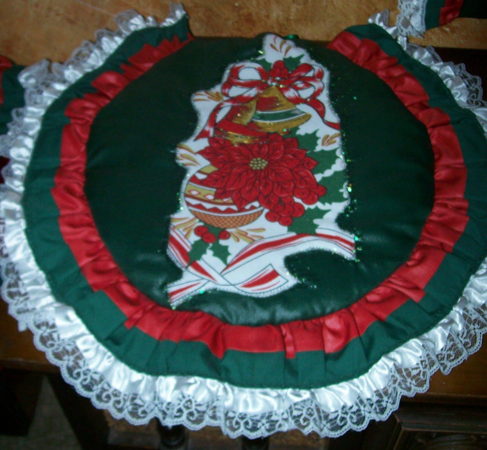 Lenceria De Baño Navidad:Creaciones Galeja: Lencería de Baño Navideña