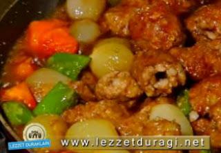 Ekşili Soğan Kebabı Nasıl Pişirilir - Videolu Tarifi