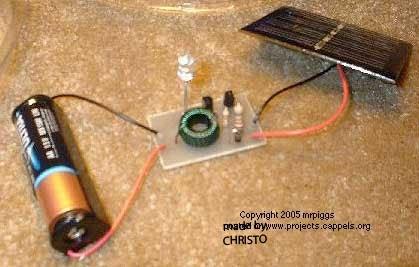 Как сделать с солнечного батареи фонарь