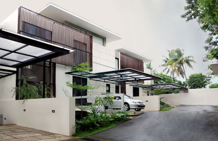 Townhouse in Jakarta, Indonesia