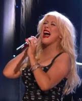 christina Aguilera fat 2010