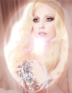 LAdy gaga mac december 2010