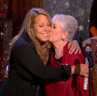 mariah and patricia mother embrace