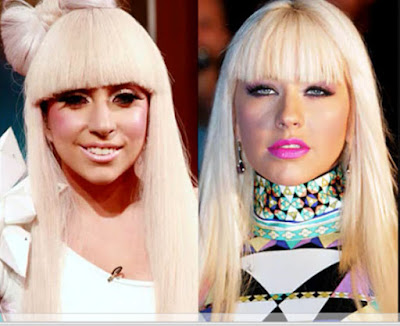 christina aguilera vs lady gaga