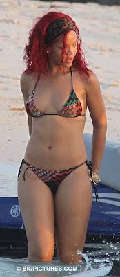 rihanna bikini 2011