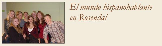 El mundo hispanohablante en Rosendal