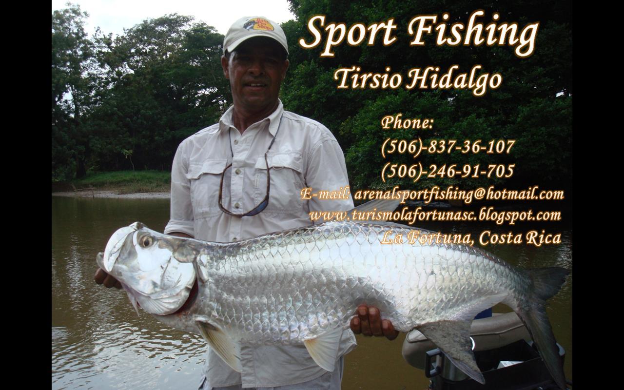 Sport Fishing Caño Negro Tirsio Hidalgo