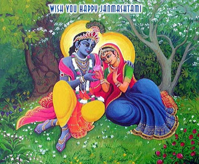 Shree Krishna with Radha