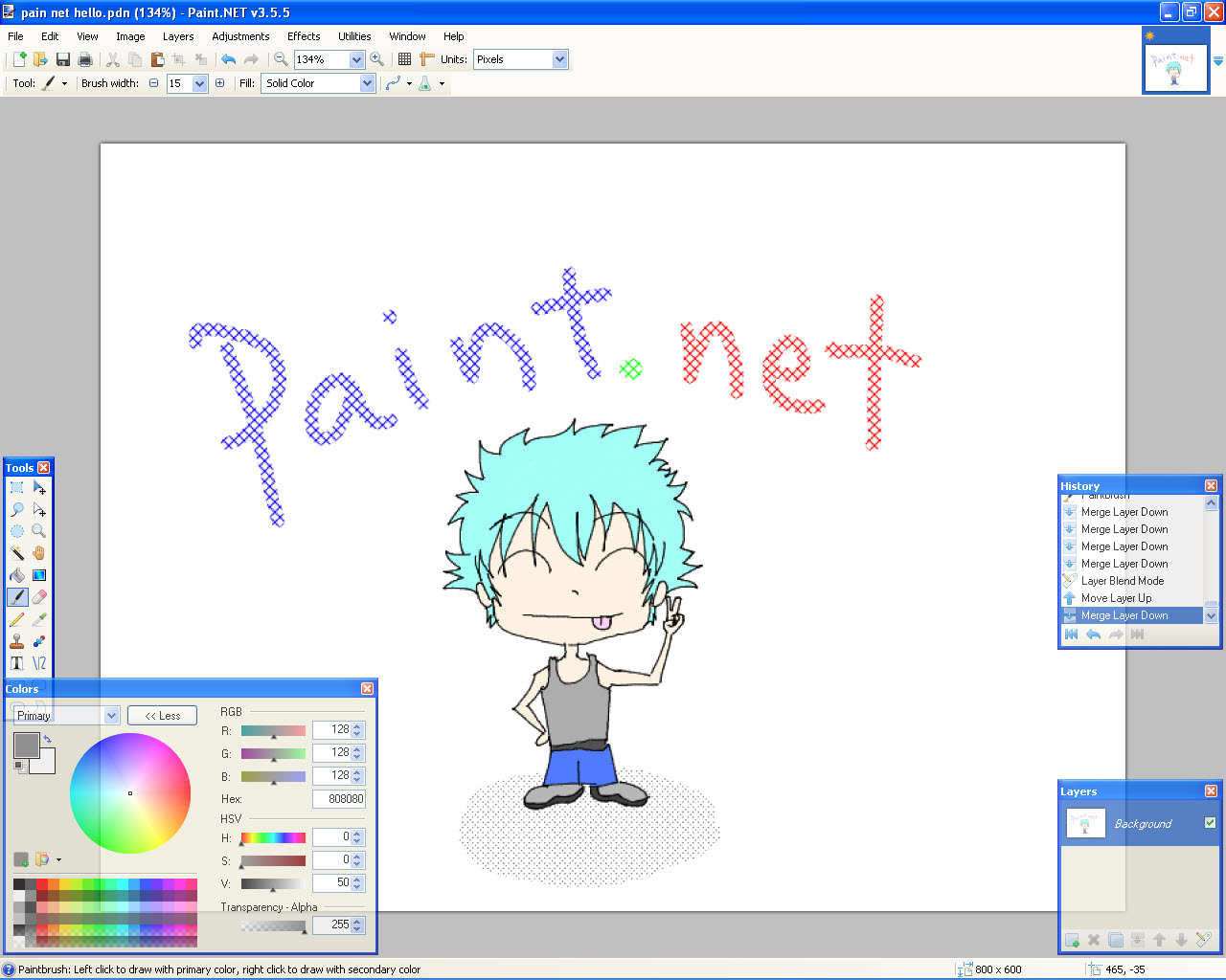 Download Paintnet Free Software For Digital Photo Editing Auto Design Tech