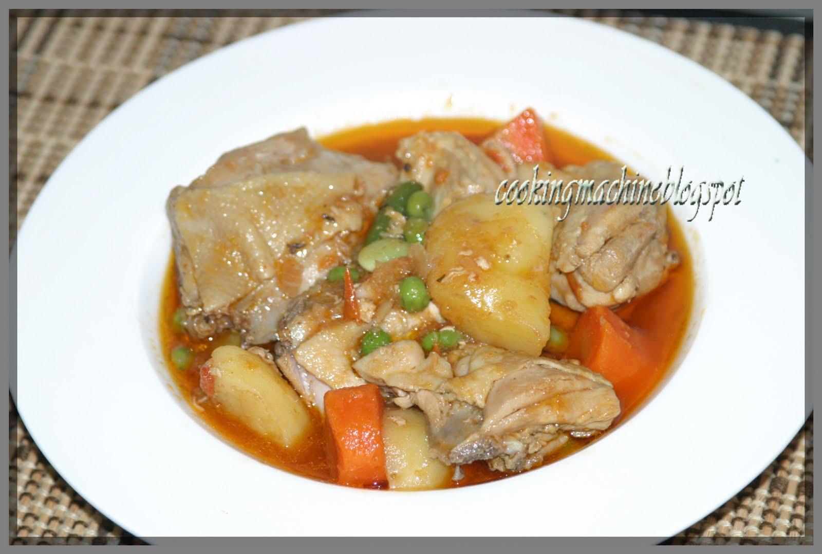 asian cooking and more chicken afritada filipino