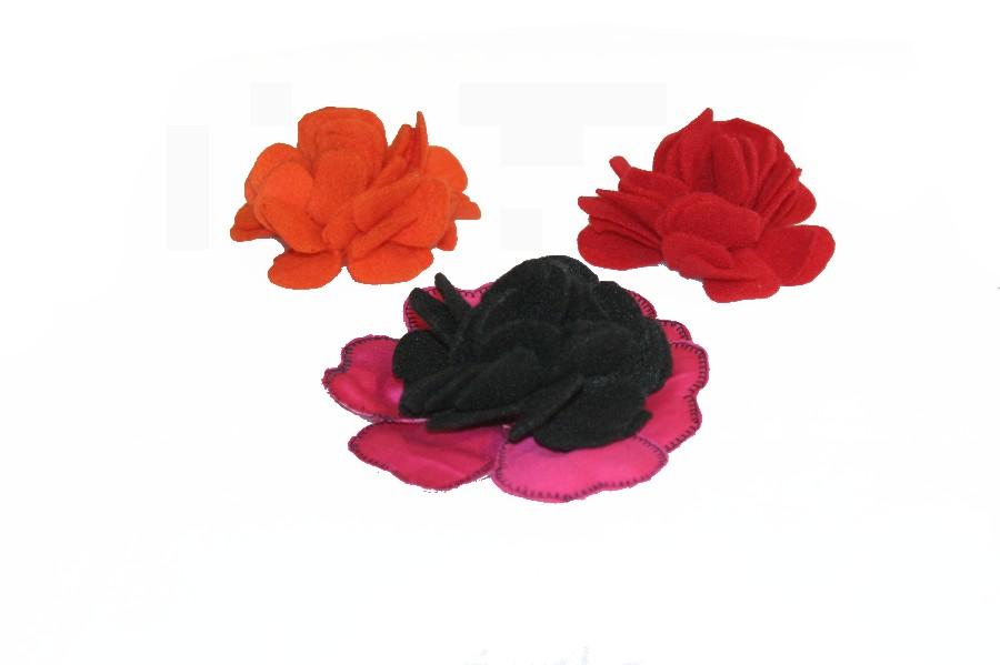 fabric flowers kanzashi flower tutorial jinkys crafts