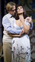 Misha Didyk (Ruggero) and Angela Gheorghiu (Magda de Civry) in Puccini's La Rondine, SF Opera