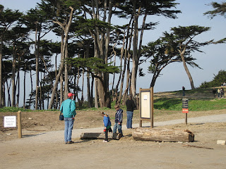 Start of Lands End Trail