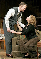 Kathleen Turner and Bill Irwin as Martha and George