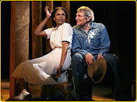 Audra McDonald and John Cullum in 110 in the Shade
