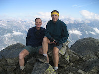 Gay hiker dads in the Alps