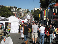80,000 thousands friends at the Castro Street Fair