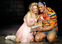 Kerry Butler and Cheyenne Jackson in Xanadu