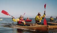 GuyDads kayaking
