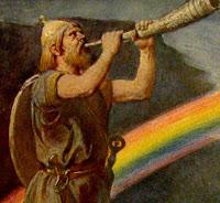 Rainbow shofar blower