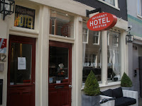 The Amistad Hotel in Amsterdam where their motto is 'Sleep with Us'
