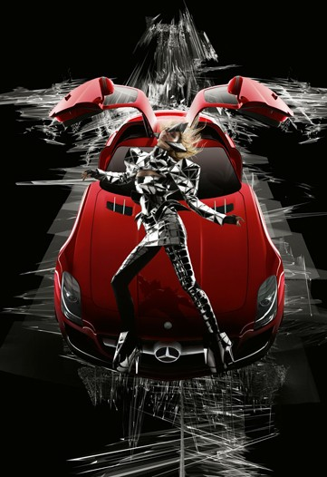 Nova Campanha da Mercedes Benz com Nick Knight