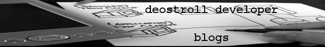 deostroll developer blogs