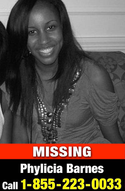 Young N NEWZ: 16-YEAR-OLD PHYLICIA BARNES IS MISSING