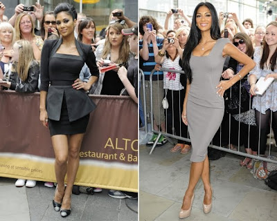Nicole Scherzinger in X factor Auditions