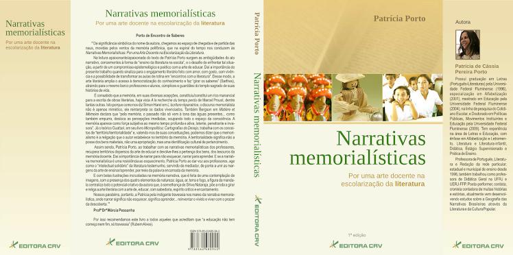 Livro: Narrativas Memorialísticas: Por uma Arte docente na Escolarização da Literatura.
