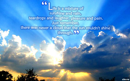 Quotes About Sunshine And Rain. QuotesGram Quotes About Sunshine And Rain