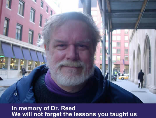 In Memory of Dr. Reed