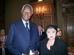 *M. Abdou DIOUF, Secrétaire Général de l'Organisation Internationale de la Francophonie (OIF) & Mor