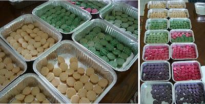 recettes  Marathon Macarons : 400 Macarons pour une Pièce Montée