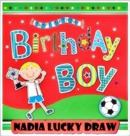 Nadia Punye Lucky Draw