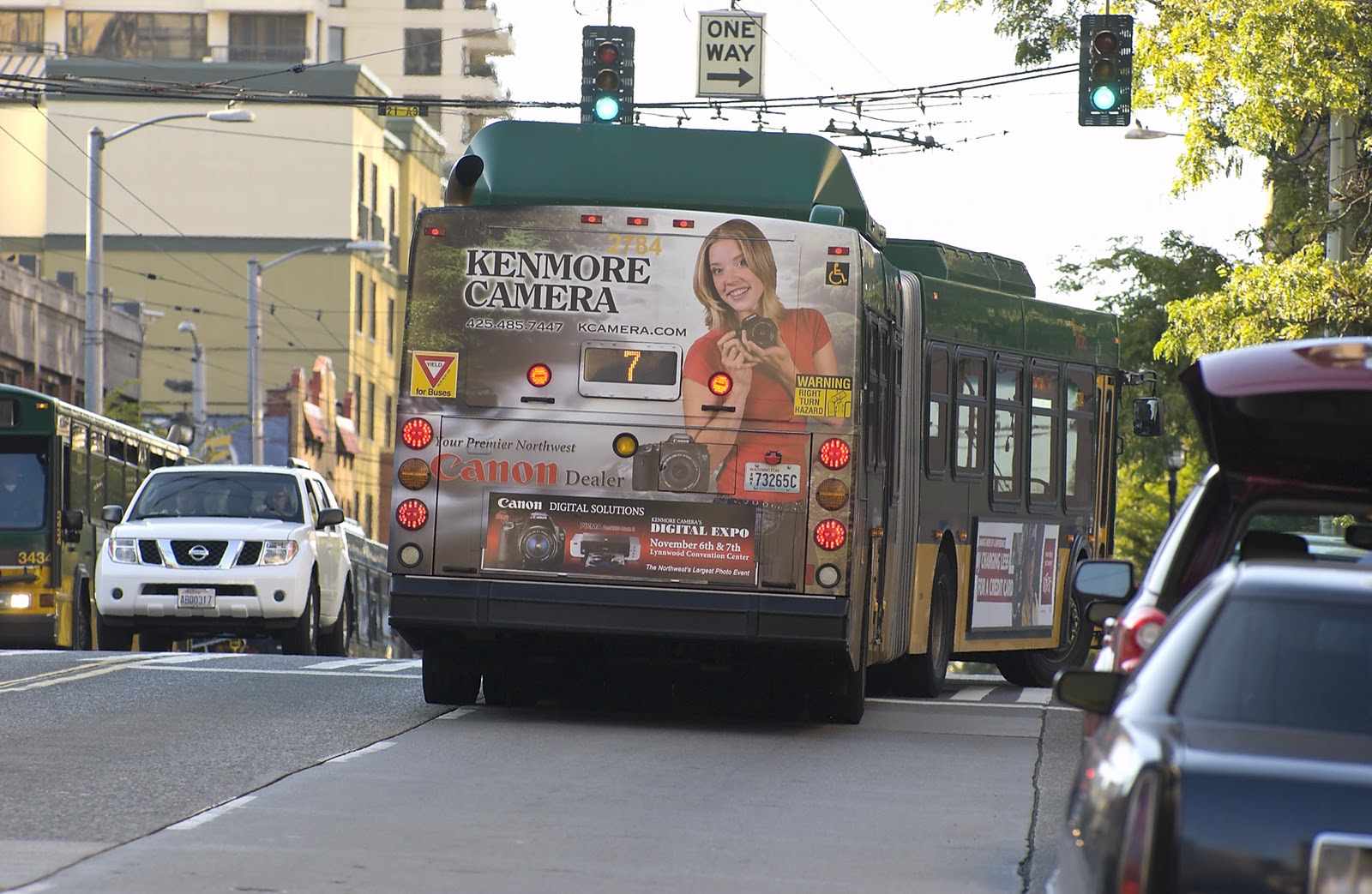 Kenmore Camera Blog: Metro Bus Wrap