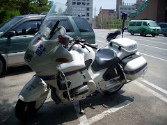 BMW Korean Police Motorcycle