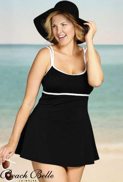 Купить Купальник Платье Большого Размера