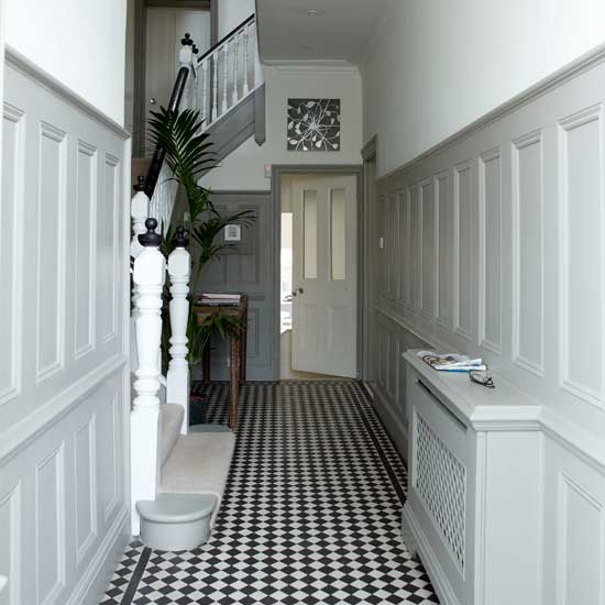 Lovely Contemporary Victorian Hallway: {Interiors Inspiration: Hallways}
