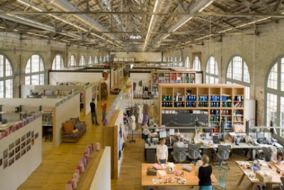 {Urban Outfitters HQ - office inspiration} - Bright Bazaar by Will Taylor