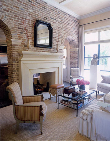 Home interior design interior brick wall for Interior brick wall designs