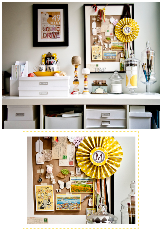 A Small Bright Home Office Bright Bazaar By Will Taylor