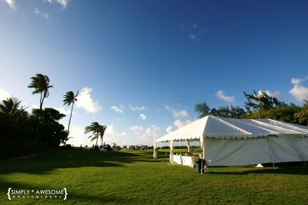 On a note of credit the first picture was taken by the studmuffin known as MH and the rest taken by yours truly ) & simply * awesome: hawaii tents u0026 events