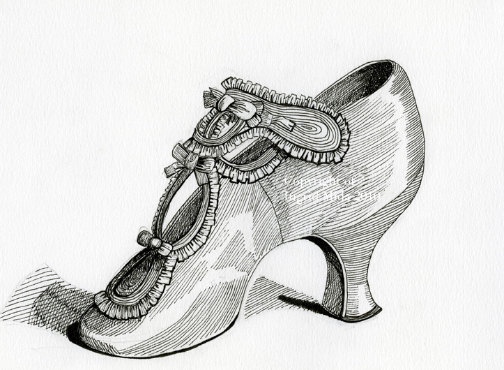 Line Art Shoes : Fashion is my muse i cannot stop drawing shoes